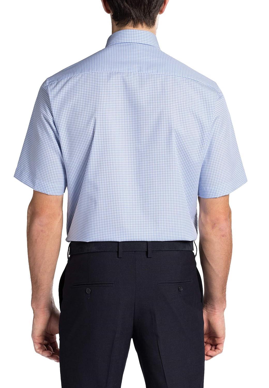 Eterna Kurzarm Hemd Comfort FIT FIT FIT Popeline kariert B07K8P1H97 Business Nicht so teuer ac54ec