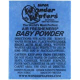 Wonder Wafers 50 Count Individually Wrapped Automobile Professional Use Air Fresheners Car and Truck Detail Baby Powder
