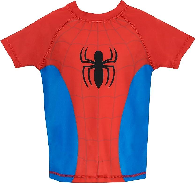 Spiderman El Hombre Araña - Bañador de Dos Piezas para niño 18-24 ...