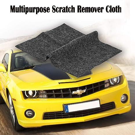 2 Pack Bamoer Multipurpose Scratch Repair Cloth Car Paint Scratch Repair Cloth Car Scratch Remover Nano Meter Scratch Removing Cloth For Surface