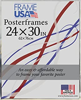 product image for Frame USA 24x30 Hardboard Poster Frames (Silver) | Multiple Color Options Available