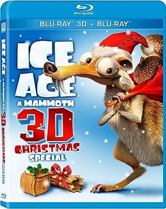 Ice Age A Mammoth Christmas.Amazon Com Ice Age A Mammoth Christmas Special 3d Blu Ray