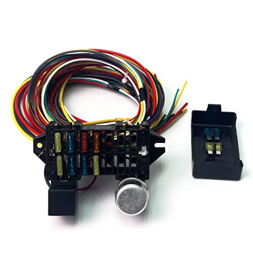 also aftermarket wiring harness on hot rod wiring diagram fuse panel rh florianvl co Panel Fuse Box Diagram Freightliner Wiring Fuse Box Diagram