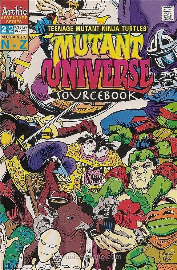 Amazon.com: Teenage Mutant Ninja Turtles Mutant Universe ...