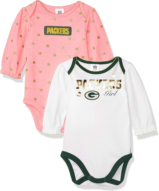 NFL 2 Pack Long Sleeve Bodysuit 2 Pack Long Sleeve Bodysuit