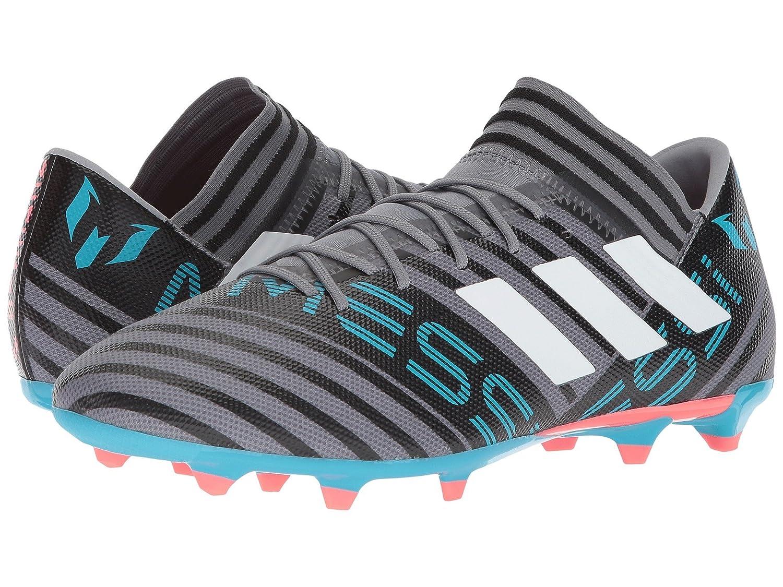 (アディダス) adidas メンズサッカーシューズ靴 Nemeziz Messi 17.3 FG Grey/White/Black 7 (25cm) D Medium B07BQPSH88