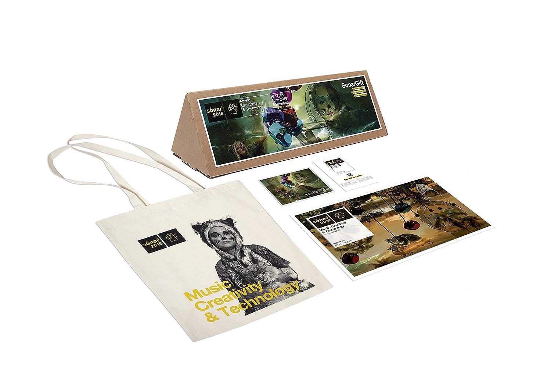 SonarGift - incluye Postal Abono de Sónar 2016 + Tote bag exclusiva Sónar 2016 + Póster exclusivo Sónar 2016