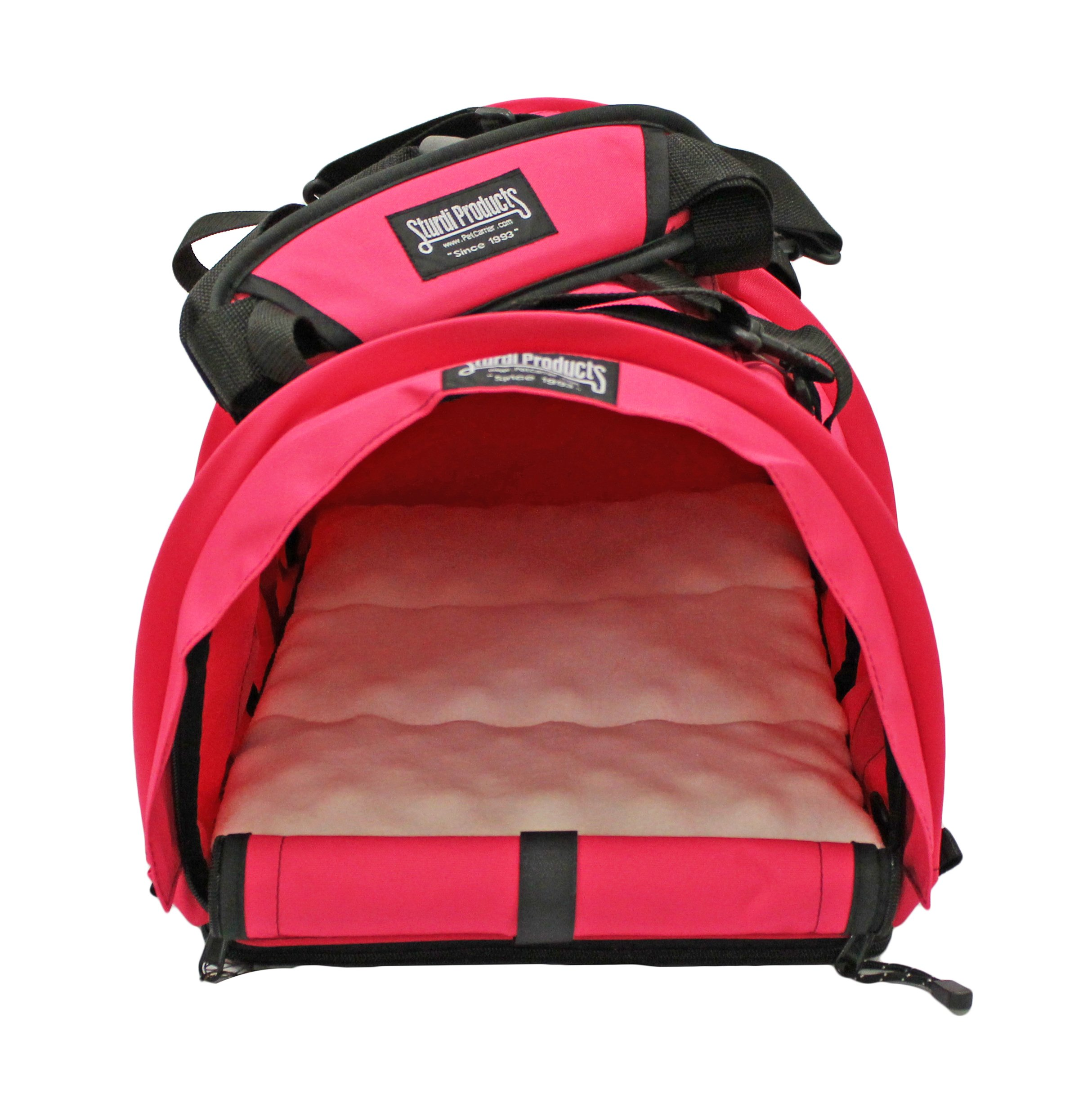 STURDI PRODUCTS SturdiBag Large Pet Carrier, Hot Pink by STURDI PRODUCTS