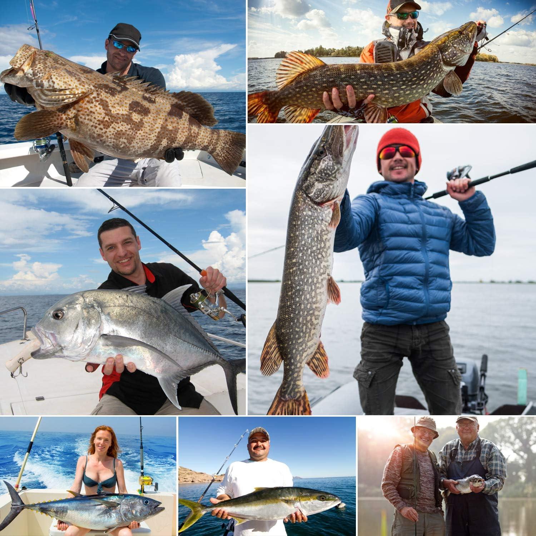 6lb-80lb Super Fuerte Magreel Hilos Sedales Trenzados de Pesca L/íneas Trenzadas Cuerda de Pescar Volant/ín Resistente a Abrasi/ón