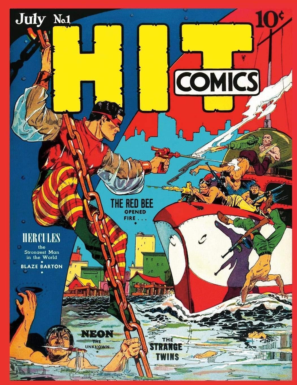 Hit Comics 10 Brand Ne... ; Escamilla Israel COR Paperback by Quality Comics