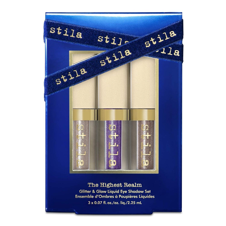 stila The Highest Realm- Glitter & Glow Liquid Glitter Eye Shadow Set, 1 oz.