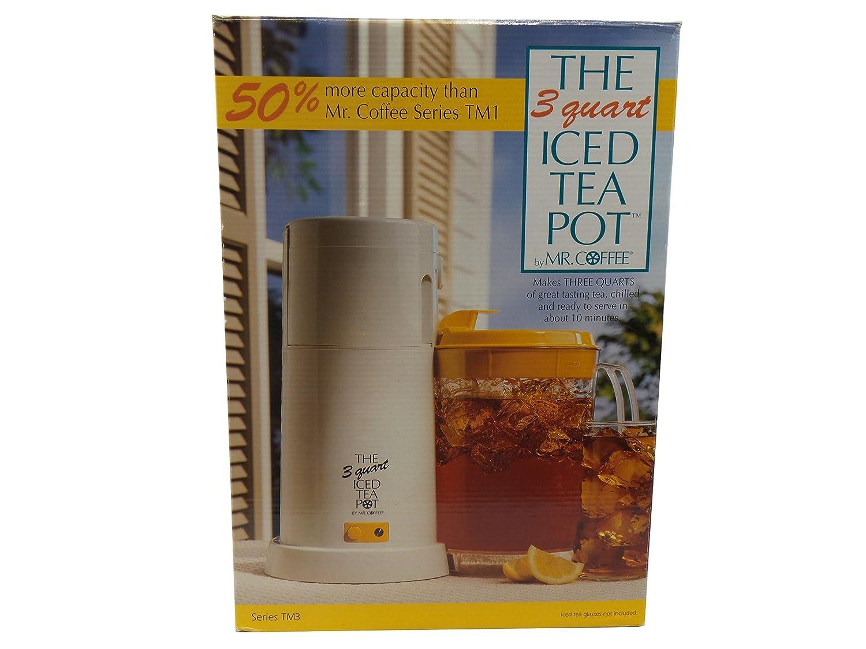 Mr. Coffee 3 Quart Iced Tea Maker, TM3 (Yellow)