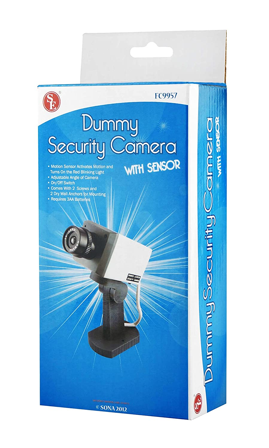 Style; Generous Dummy Camera Solar Battery Powered Flicker Blink Led Fake Indoor Outdoor Surveillance Security Camera Bullet Cctv Camera Fashionable In