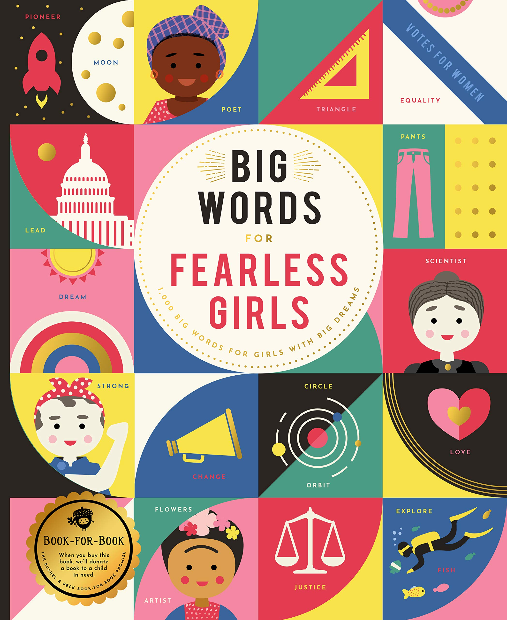 Big Words for Fearless Girls: 1, 000 Big Words for Girls