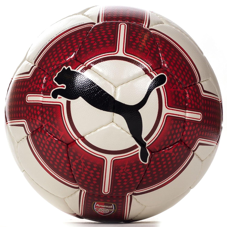 Puma Arsenal Evopower 4 Fútbol balón de fútbol blanco/rojo, blanco ...