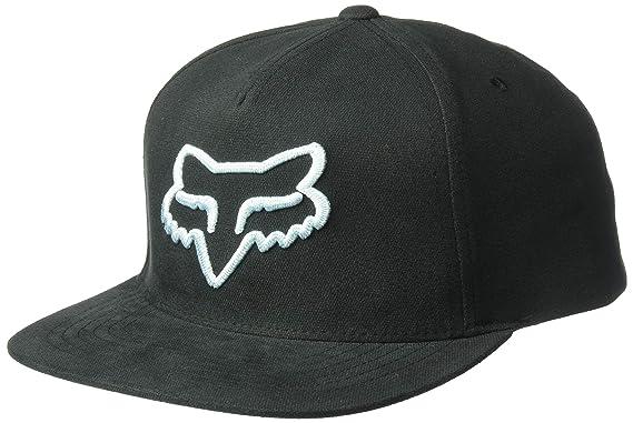 Fox Instill Snapback Hat Black/Blue: Amazon.es: Coche y moto