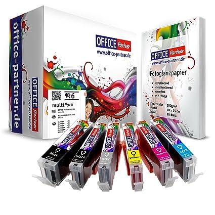 Multipack cartuchos de impresora compatibles con Canon PGI ...