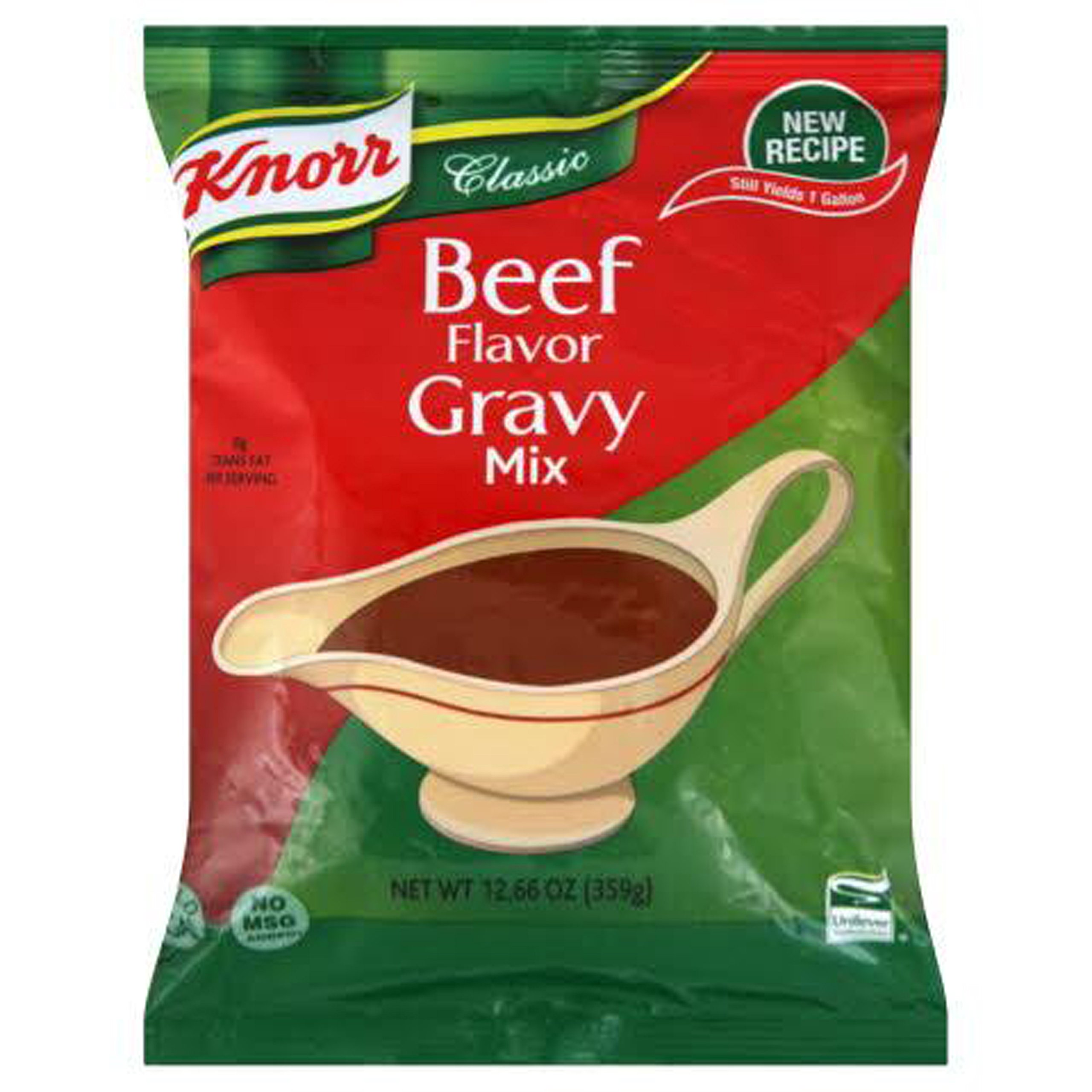 Knorr Foodservice Beef Flavor Gravy Mix, 12.66 Ounce