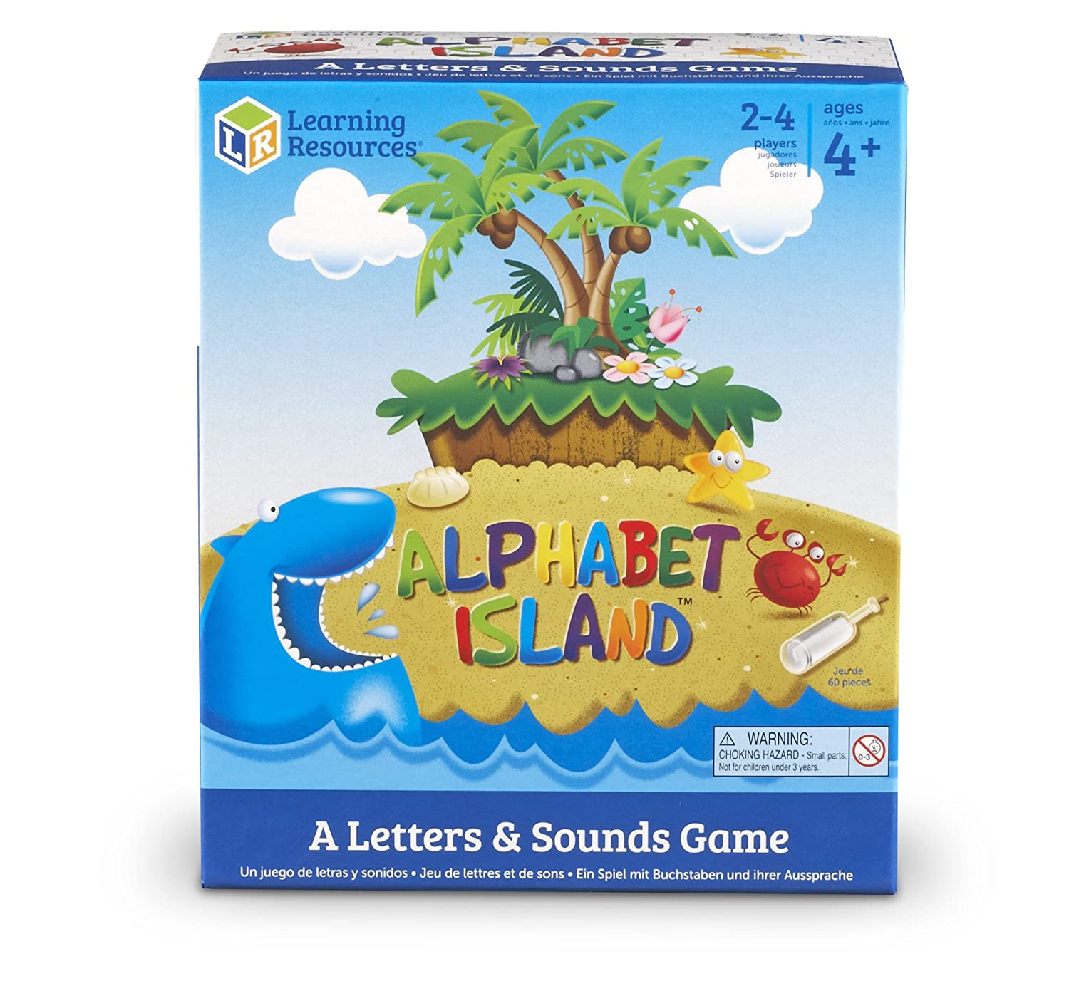 Amazon.com: Learning Resources Alphabet Island A Letter & Sounds ...