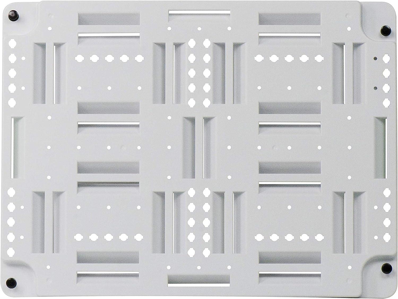 Legrand - OnQ AC1040 Plastic Universal Mounting Plate, White