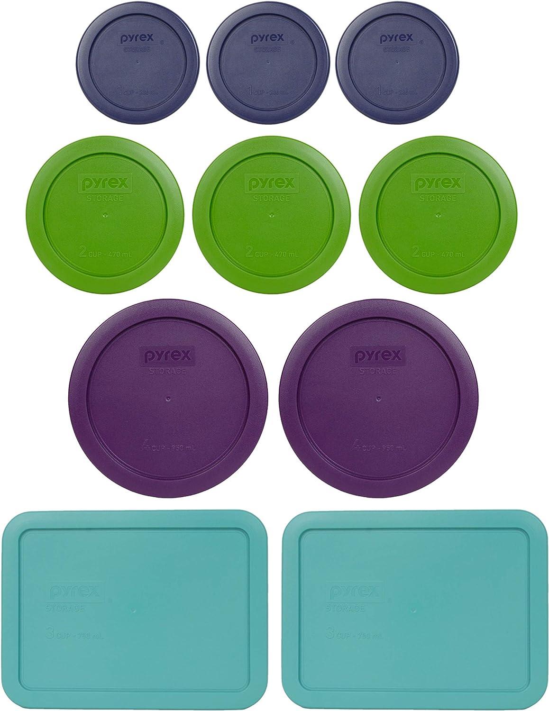 Pyrex Simply Store Storage Set (Replacement lids for 20-piece set (10 lids)