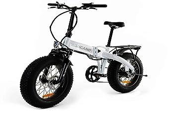 MONSTER 20 HB - Bicicleta Eléctrica Plegable - Suspensión delantera - Motor 250W, Batería LG
