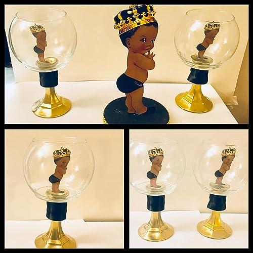 Amazon Com Little Prince Centerpiece Royal Prince Baby Shower