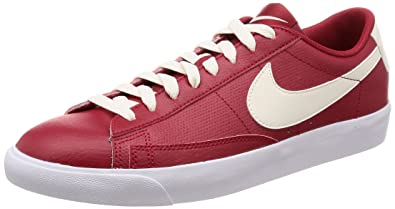 finest selection 9fe33 af9ee Nike Men s Blazer Low Leather Gym Red Sail Sail Casual Shoe 10 Men US