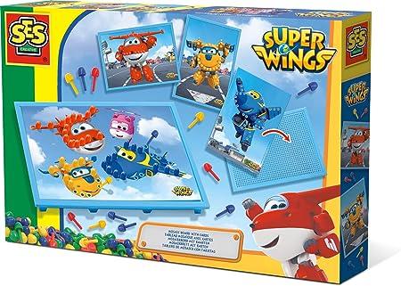 SES Creative – superwings Cuadro Mosaico con Tarjetas Super Wings, 14009: Amazon.es: Juguetes y juegos