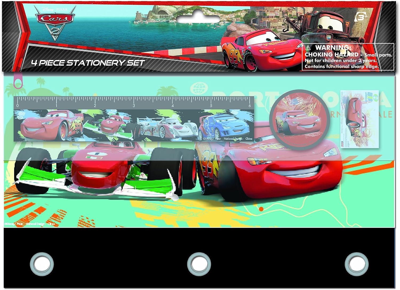 BRAND NEW DISNEY CARS 2 STATIONERY SET