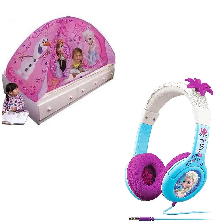 Disney Frozen Light Up Tent & Cool Tunesヘッドフォン B00QJVY7GC