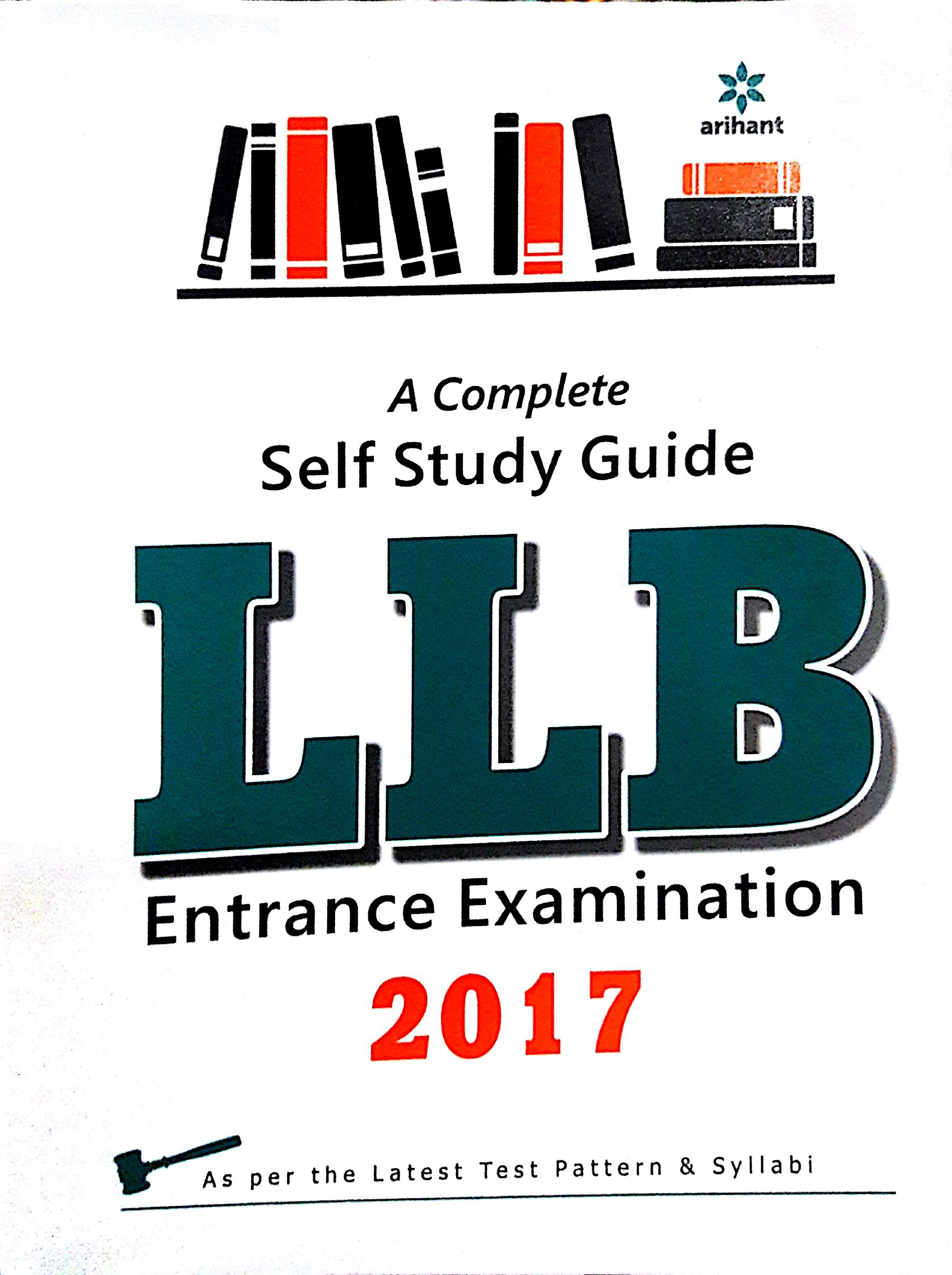 Buy A Complete Self Study Guide for LLB Entrance Examination 2017 Book  Online at Low Prices in India | A Complete Self Study Guide for LLB Entrance  ...