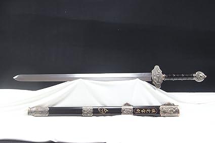 Amazon.com : yubo Hand Sword Hardwood SL Sword Alloy ...