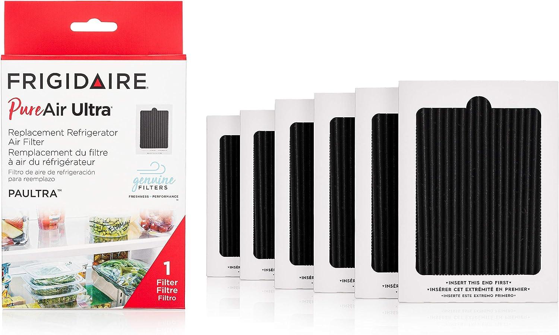"Frigidaire PAULTRA6PK PAULTRA PureAir Ultra 6 Count Air Filter, 6.5"" x 4.75"""