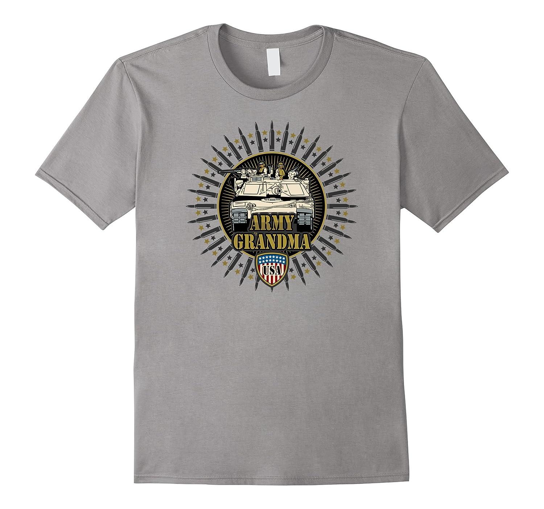 Army Grandma M1 Tank US Military T-shirts-CD