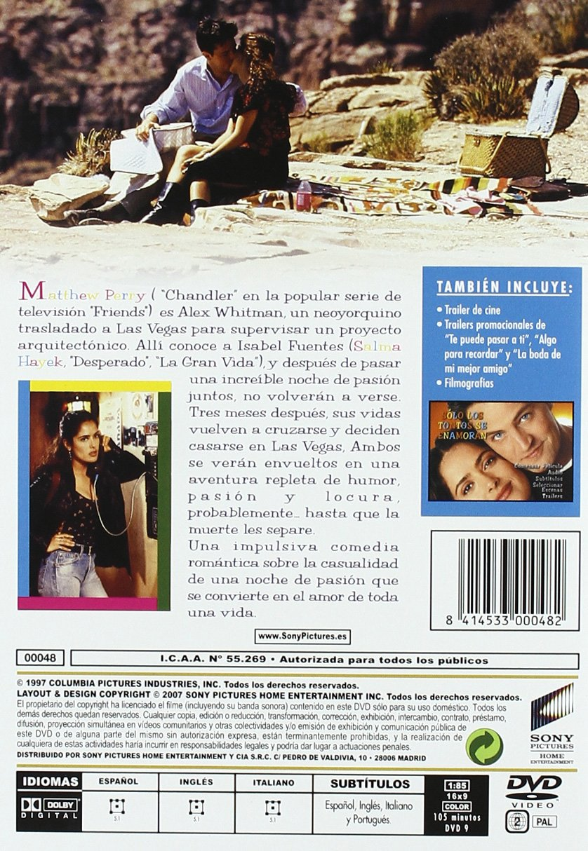 Sólo los tontos se enamoran [DVD]: Amazon.es: Matthew Perry, Jill Clayburgh, Salma Hayek, Jon Tenney, John Bennett Perry, Siobhan Fallon, Carlos Gomez, ...