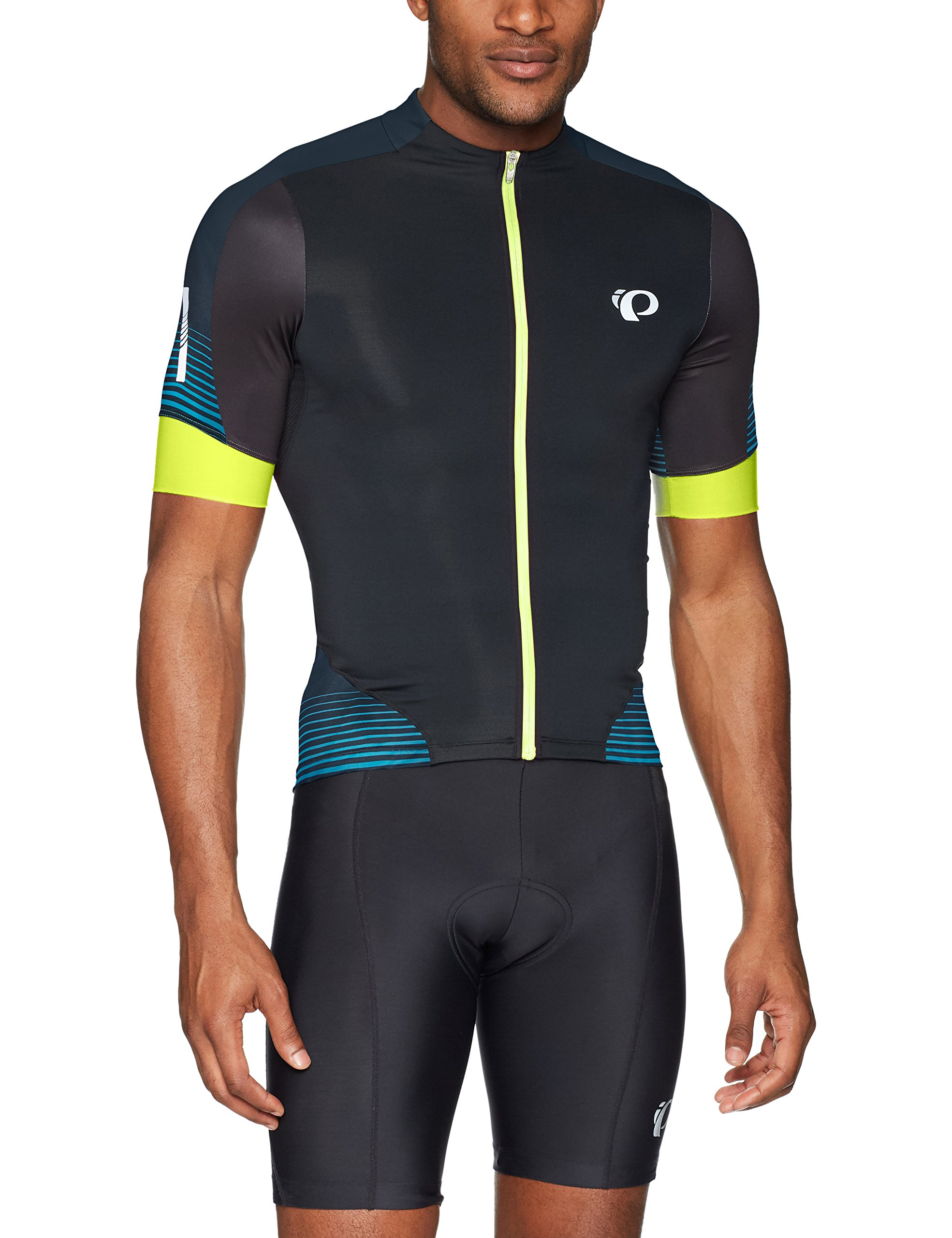 Pearl iZUMi Pro Pursuit Leader Jersey, Atomic Blue Diffuse, X-Small