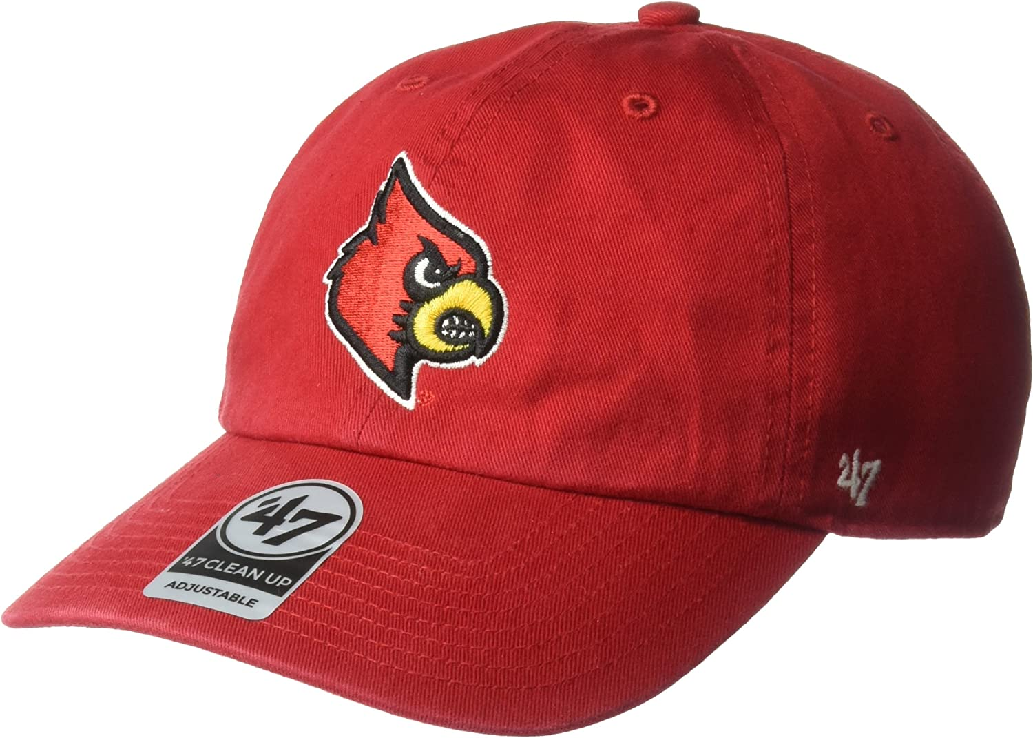 Team Color NCAA Zephyr Louisville Cardinals Mens Scholarship Relaxed Hat Adjustable