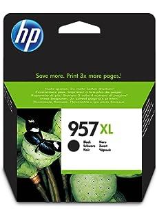 HP 953XL F6U16AE, Cartucho de Tinta Original de alto rendimiento ...