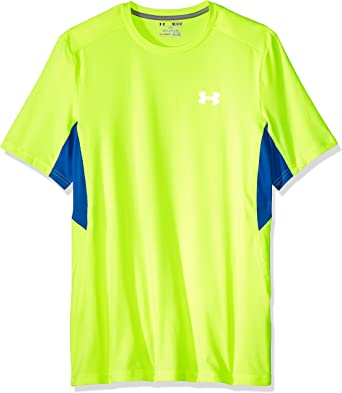 Under Armour Mens Coolswitch Run Short Sleeve Top