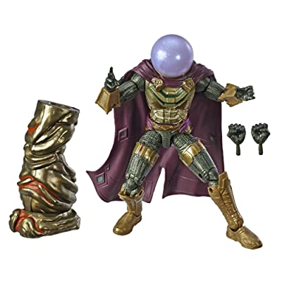 """Spider-Man Marvel Legends Series Far from Home 6"""" Marvel's Mysterio Collectible Figure: Toys & Games"""