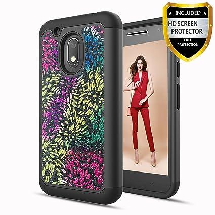 Athchu Funda Motorola Moto G4 Play Carcasa con Protector de ...