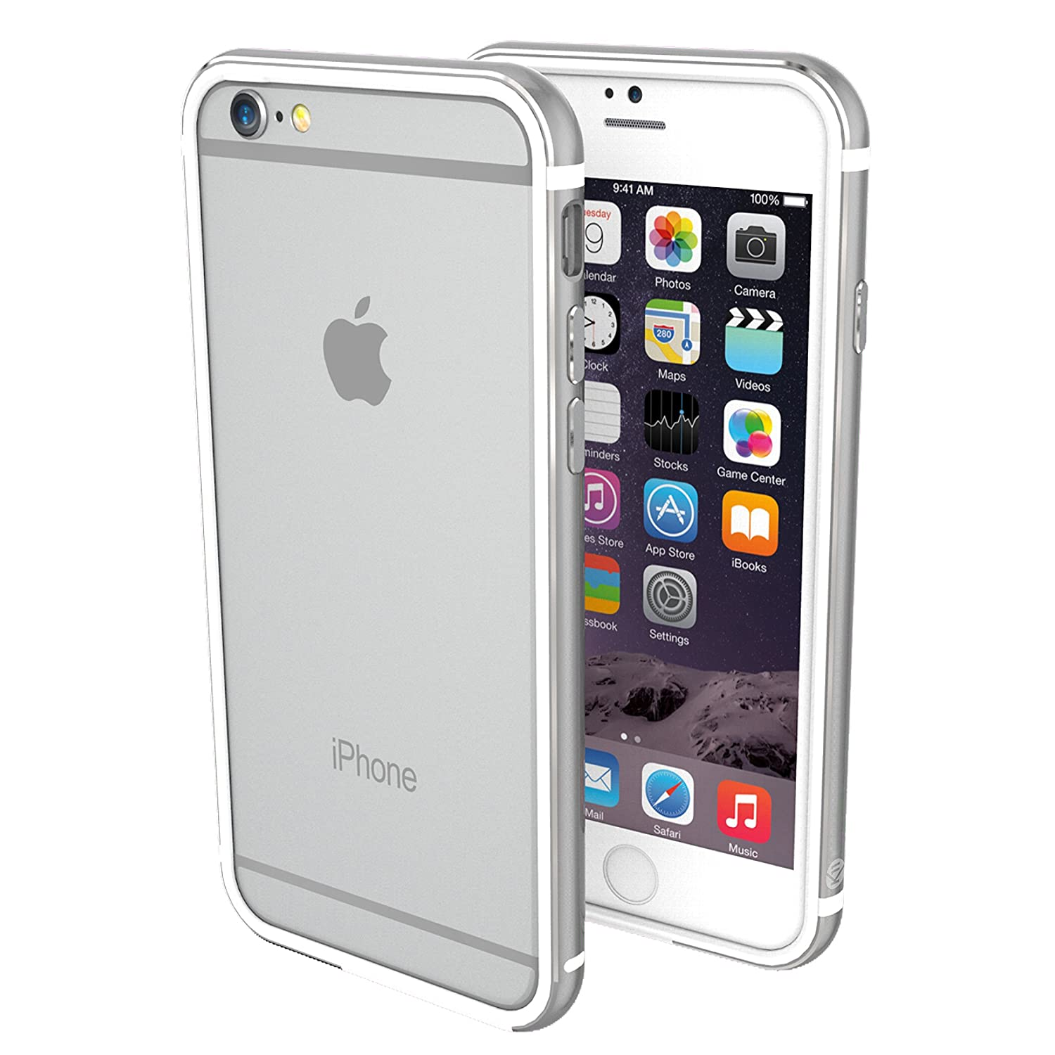 pretty nice cf879 e8643 ThanoTech iPhone 6 Plus/6s Plus Case K11 Bumper - 6 Foot Drop Test -  Lightweight Aluminum TPU - Matches Your Phone Seamlessly - Slim, Durable,  and ...