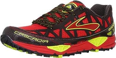 Browar Timing Systems Cascadia 8 M - Zapatillas de running, Red/JavYellow, 40: Amazon.es: Zapatos y complementos
