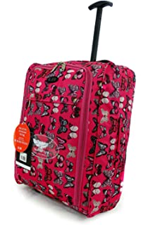 Lightweight Hand Luggage Wheeled Travel Holdall suitcase Trolley ...