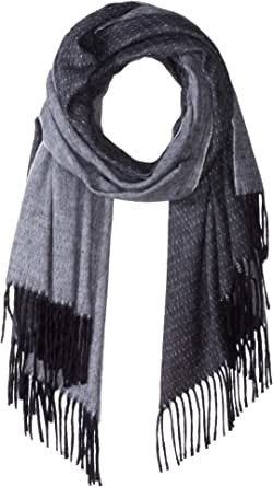 isotoner Women's Large Blanket Cold Weather Soft and Warm Travel Scarf