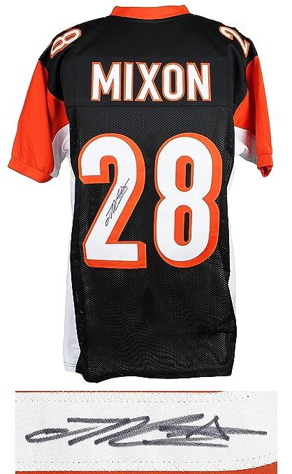release date: 21195 474e1 Cincinnati Bengals Joe Mixon Signed Black Jersey - Schwartz ...