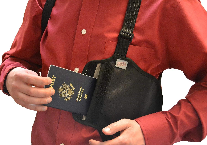 Wellspring Ideas Travel Pocket RFID Hidden Wallet 863313000002