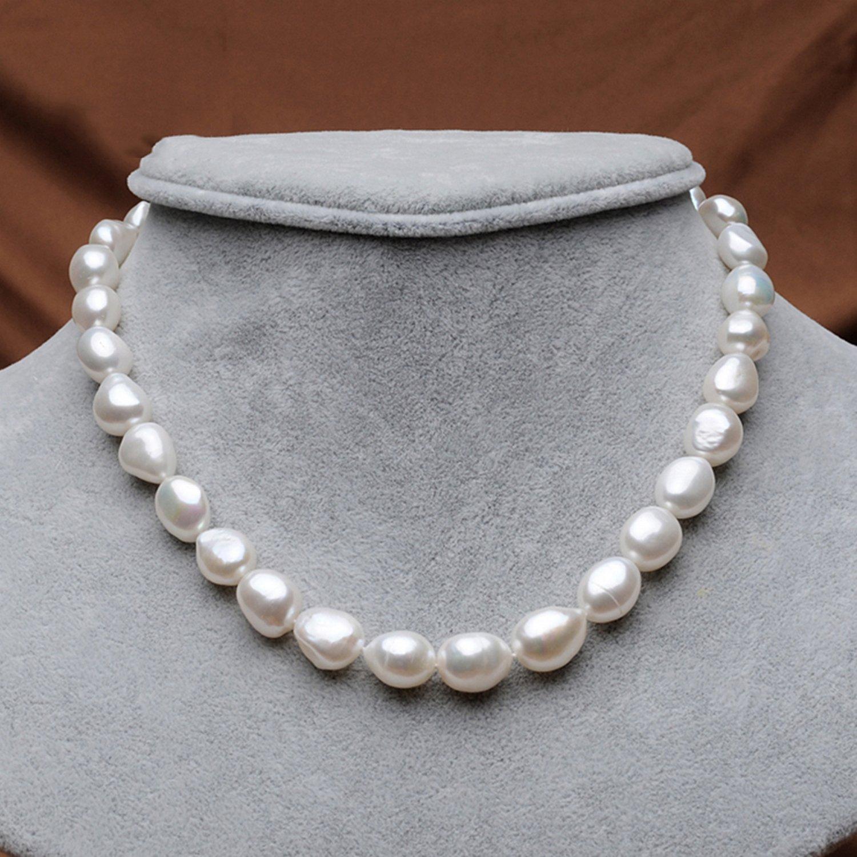 MMC Womens Necklaces Genuine Pearl Choker Pearl Bridel Pendants