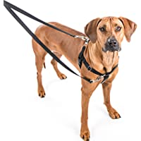 2 Hounds Design Freedom No-Pull Harness Only, No Leash, Red, XX-Large (1-Inch Wide)
